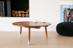 Outre de la déco, on trouve aussi du mobilier esprit scandinave chez P.I.B.