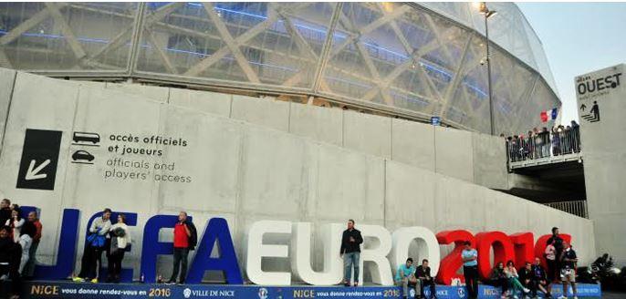 L'Allianz Riviera est l'un des stades nouvellement construits qui accueillera certains matches de l'Euro 2016